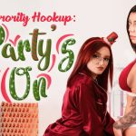 VR Porn video with Sorority Hookup: Party's On Gabbie Carter, Karma Rx, Lola Fae