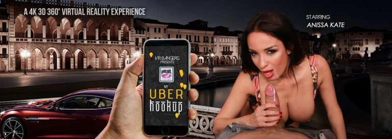 VR Porn video with My Uber Hookup Anissa Kate