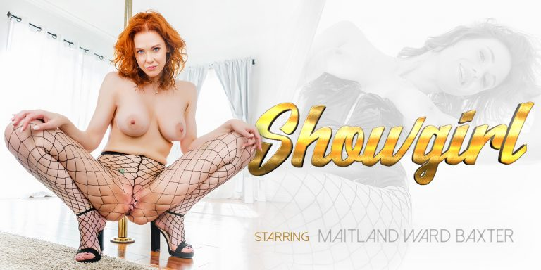 VR Porn video with Showgirl Maitland Ward