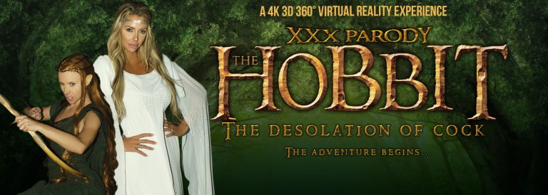 VR Porn video with The Hobbit: The Desolation of Cock Anya Olsen, Courtney Taylor
