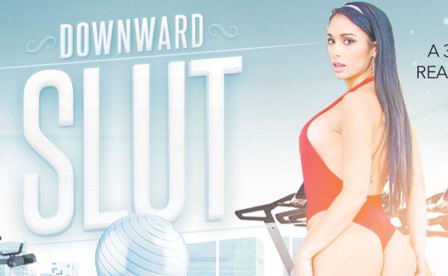 VR Porn video with Downward Slut Jackie Wood