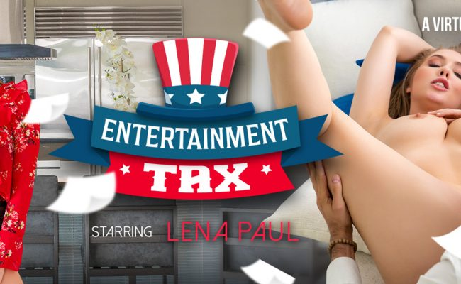 VR Porn video with Entertainment Tax Lena Paul