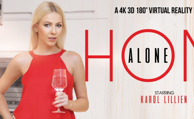 VR Porn video with Home Alone Karol Lilien