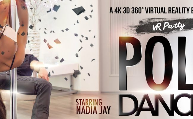 VR Porn video with Pole Dancer Nadia Jay
