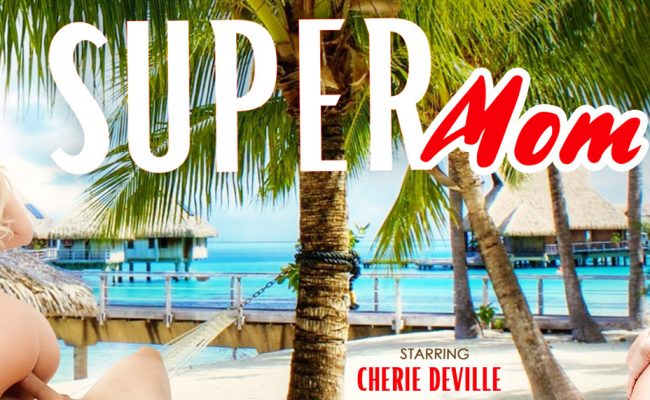 VR Porn video with Super Mom Cherie Deville