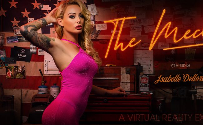 VR Porn video with The Mechanic Isabelle Deltore