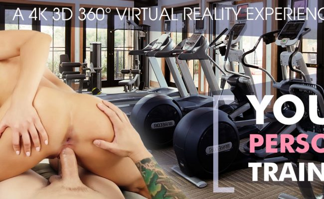 VR Porn video with Your Personal Trainer Nicole Aniston